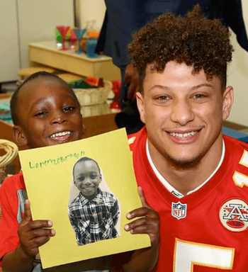 Patrick Mahomes In The Community