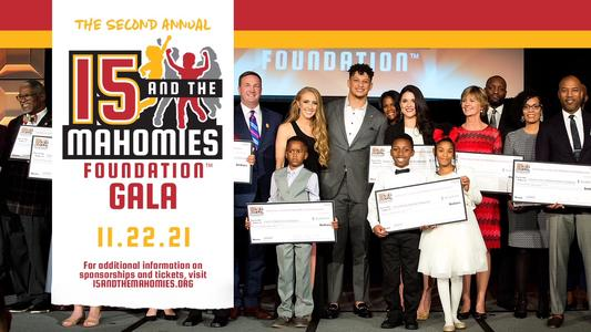Patrick Mahomes Announces 15 And The Mahomies Foundation Gala